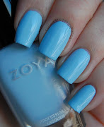 First up is Zoya Blu, a gorgeous, clean baby blue shade. (dsc copy)