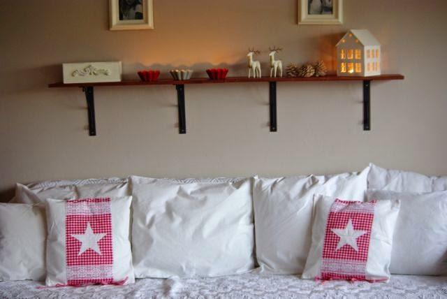 poduszki na świeta, dekoracje na boze narodzenie