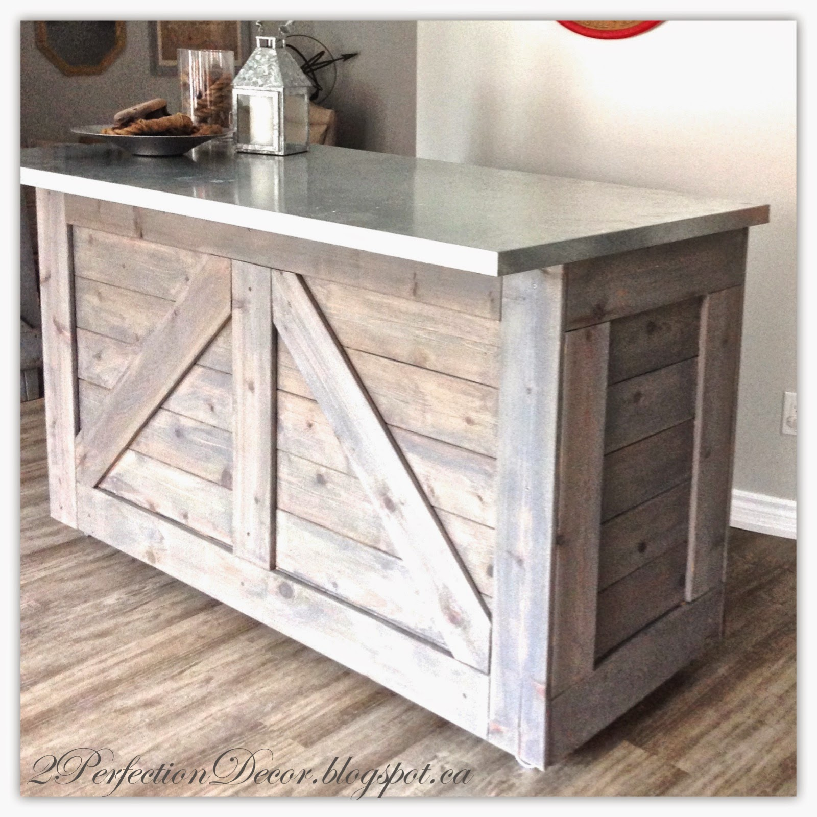 2perfection decor ikea varde cabinet transformed into for Diy wood bar