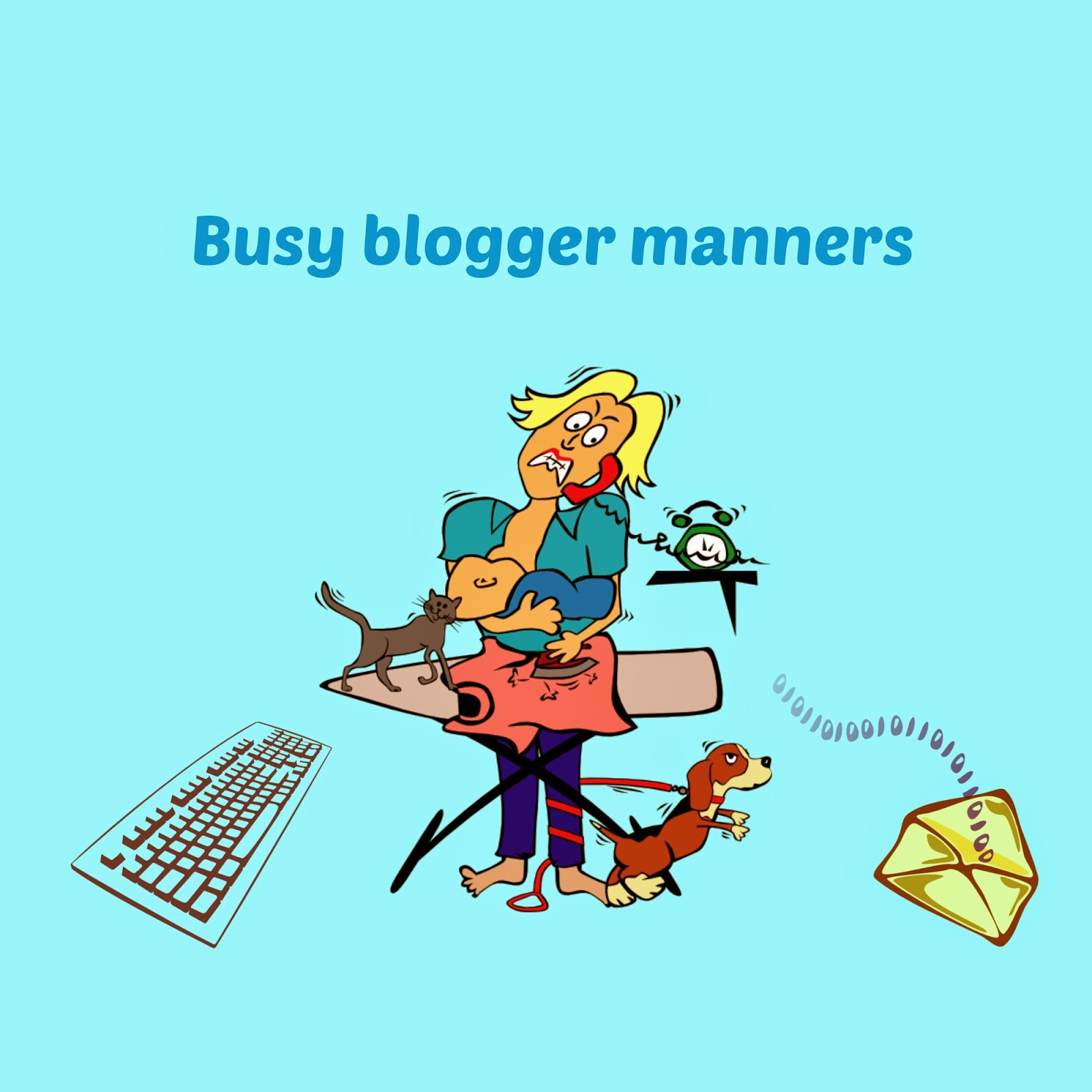 manners and etiquette for bloggers