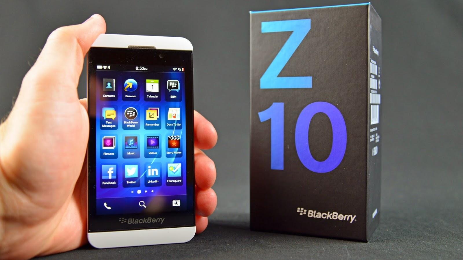 Harga Hp Blackberry Z10 dan Spesifikasi Keren
