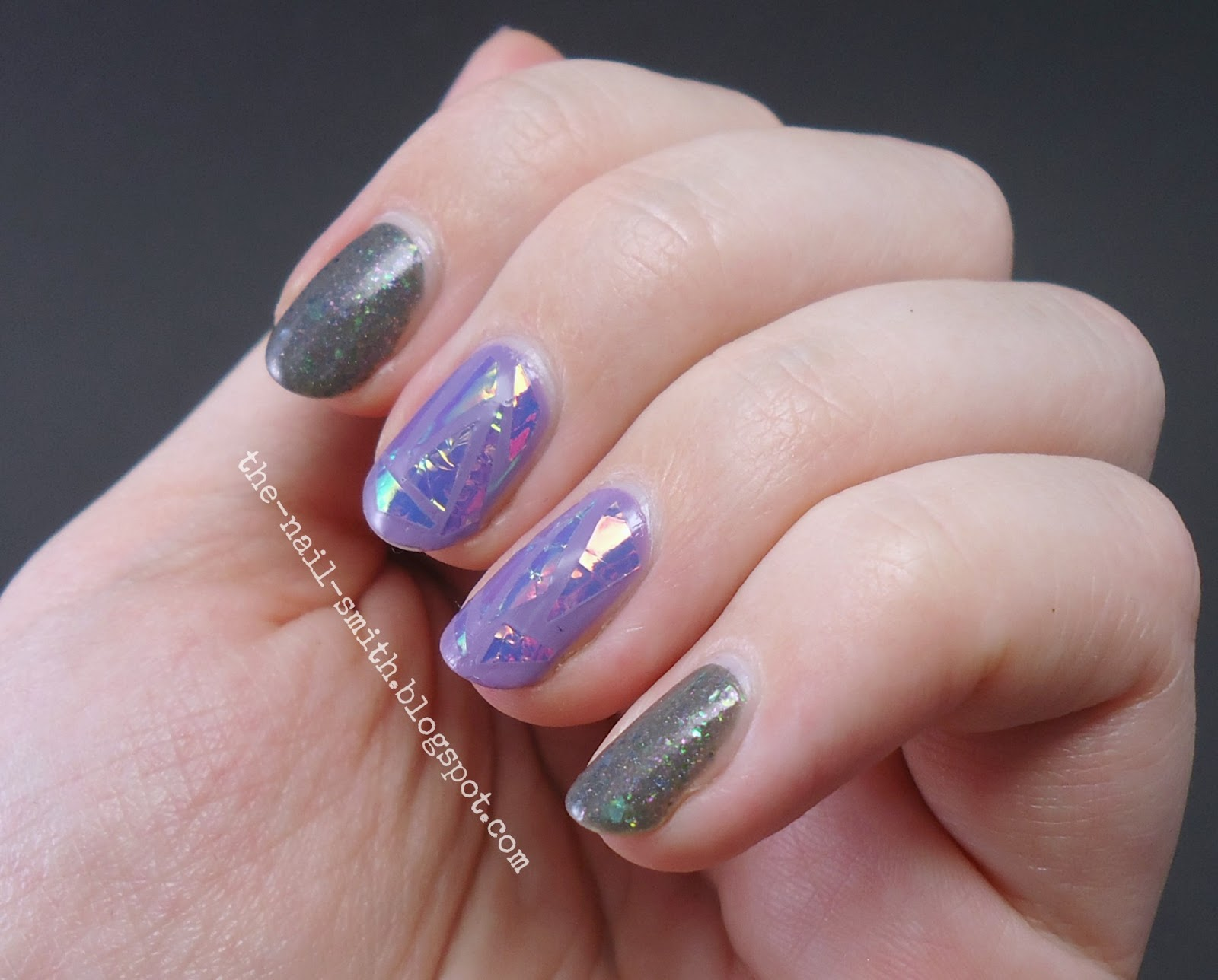 The Nail Smith: Shattered Glass Nail Art Trend