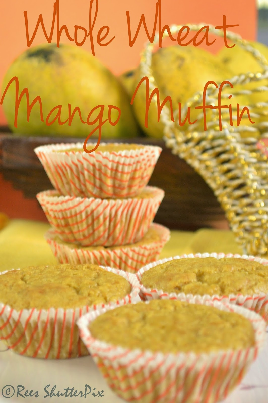 how to make mango muffin at home