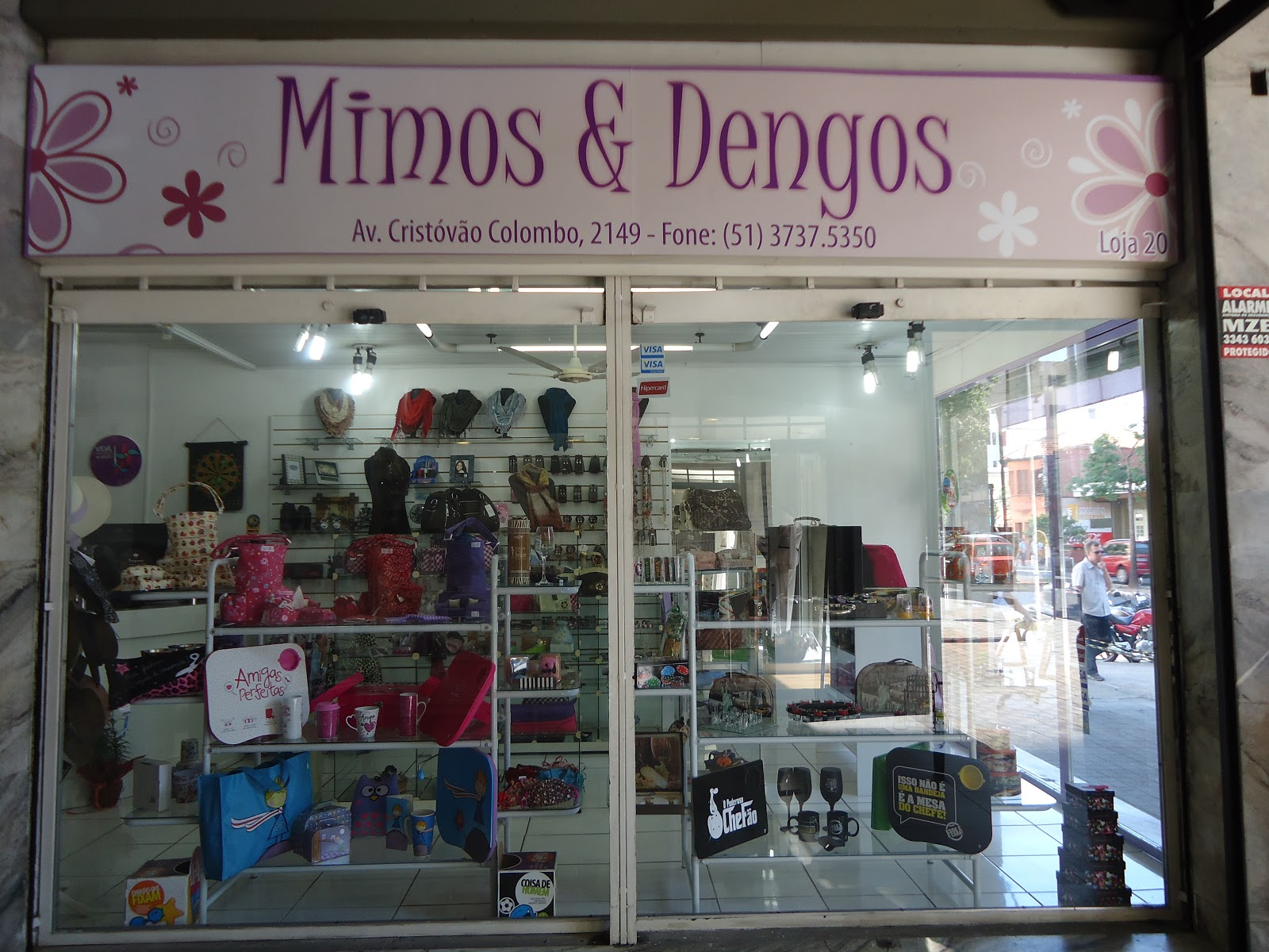 Os produtos SOFI agora na loja Mimos e Dengos (Av. Cristóvão Colombo 83777ee5b0214