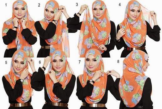 cara pakai shawl cara pakai shawl click for details cara pakai ...