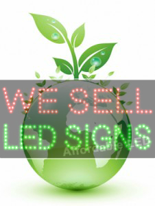 environmental friendly led signs