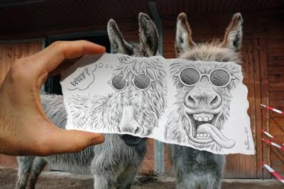 kamera+vs+pencil billyinfo4 Ilustrasi Kamera vs. Lukisan Pensil Yang Menakjubkan