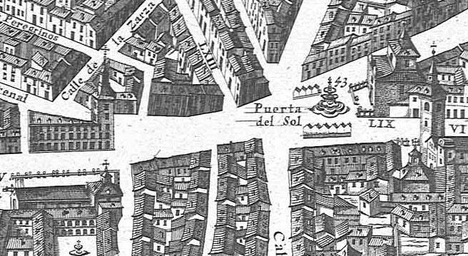 Por las calles de madrid la historia de la puerta del sol for Puerta del sol historia
