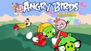 Angry Birds Seasons,Angry Birds,Pink Bird