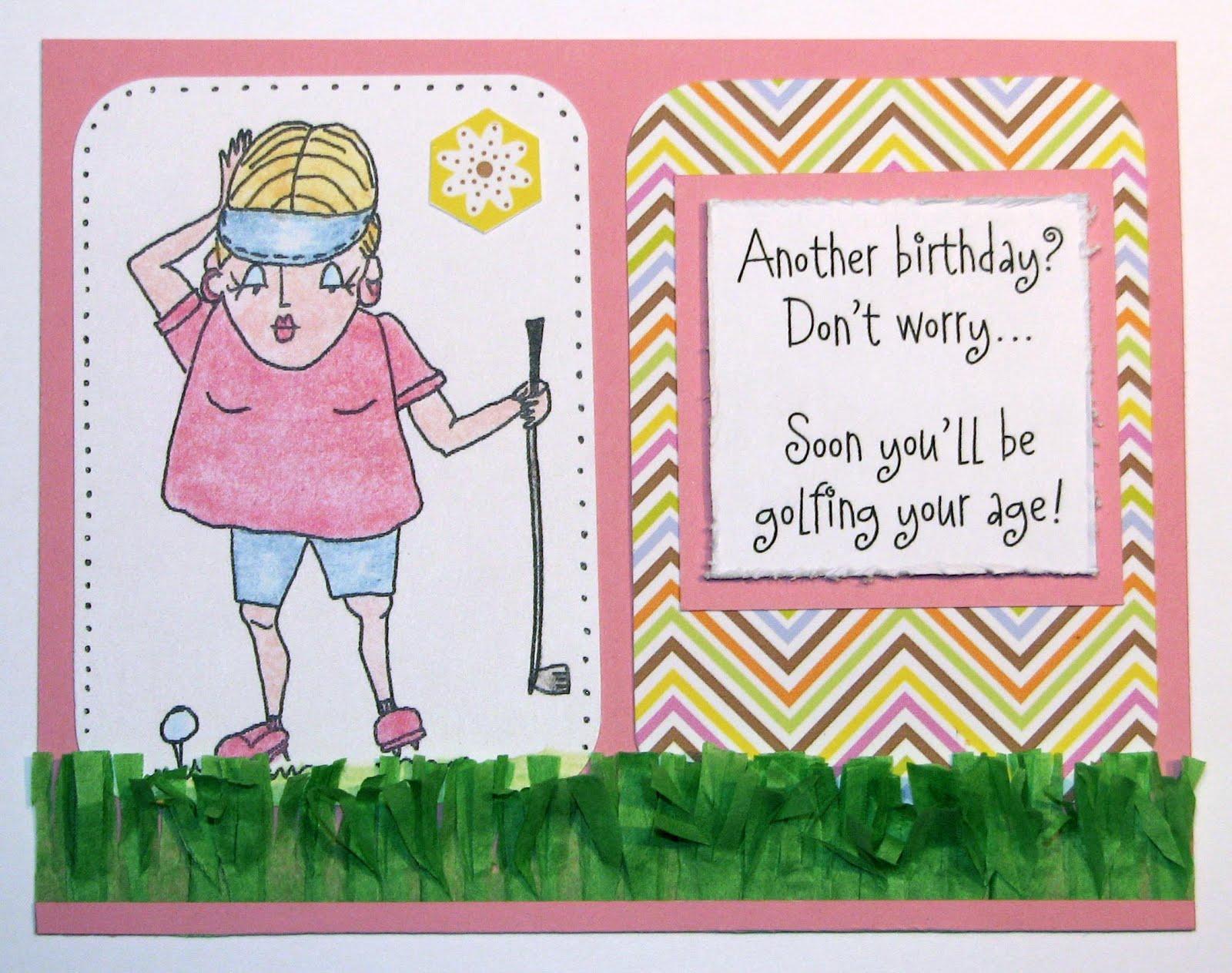 Funny Old Lady Birthday Cards Gangcraft