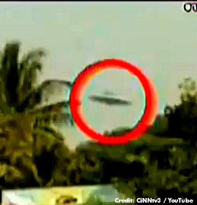 UFO Over Thai Stadium 12-27-12