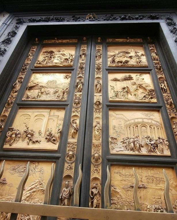La puerta del Paraíso. Florencia.