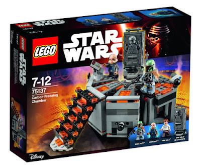 TOYS : JUGUETES - LEGO Star Wars  75137 Cámara de Congelación en Carbonita  Carbon-Freezing Chamber   Producto Oficial Película 2016 | Piezas: | Edad: 7-12 años  Comprar en Amazon España & Buy Amazon USA