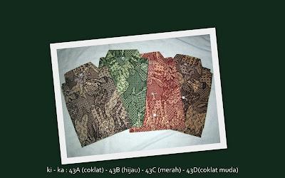 Baju Batik Pria 43ABCD