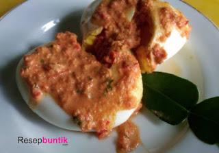 Resep Telur Penyet Bumbu Kemiri, Cocok Bagi Buntik Yang Baru Belajar Masak