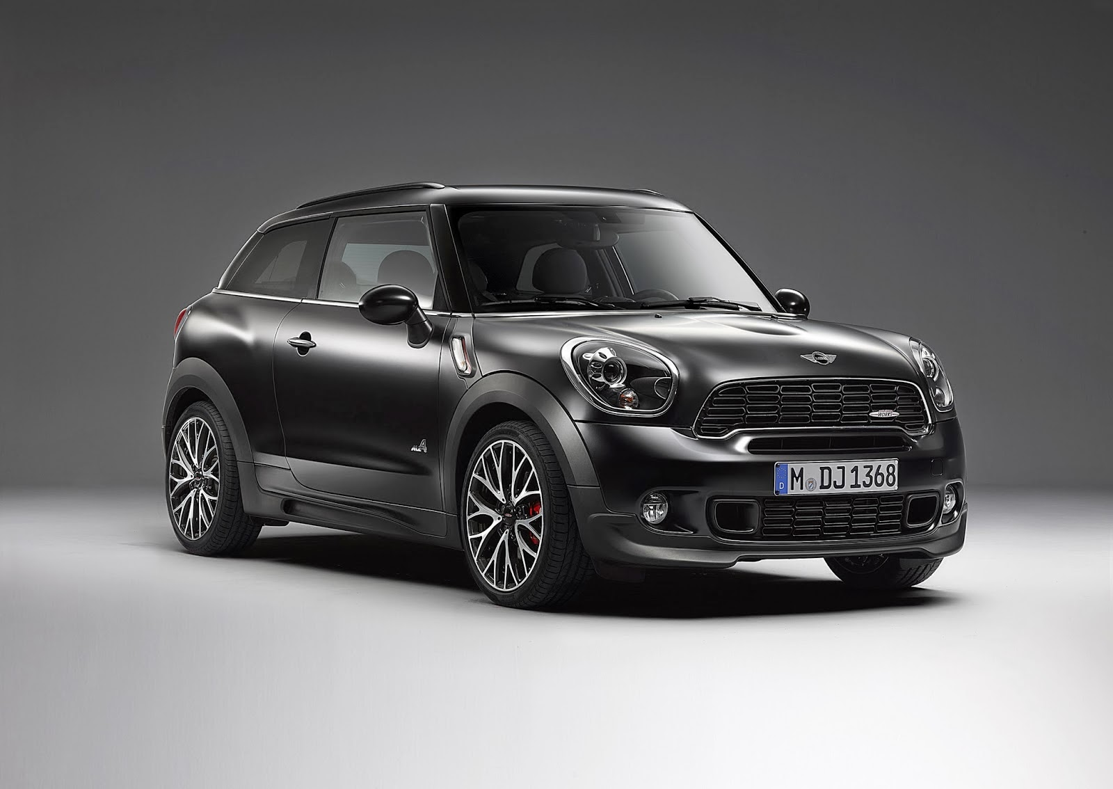 Mini Paceman John Cooper Works Frozen Black 2014