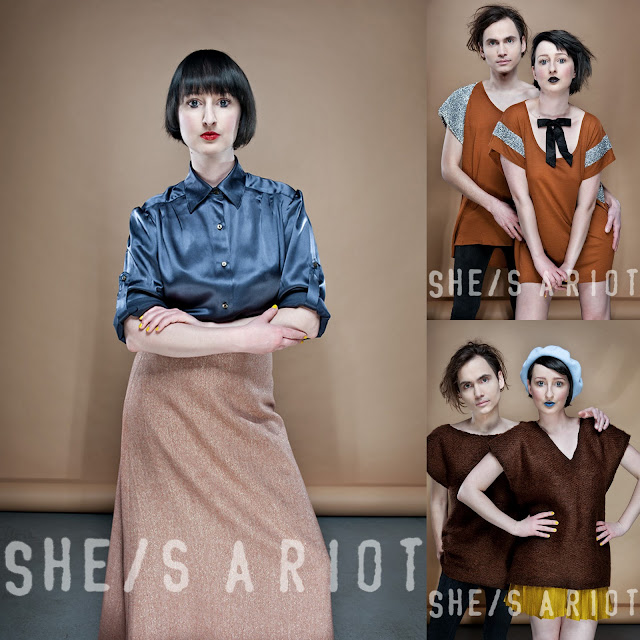 Androgynous Hipster Clothing