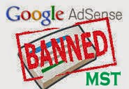 Banned adsense
