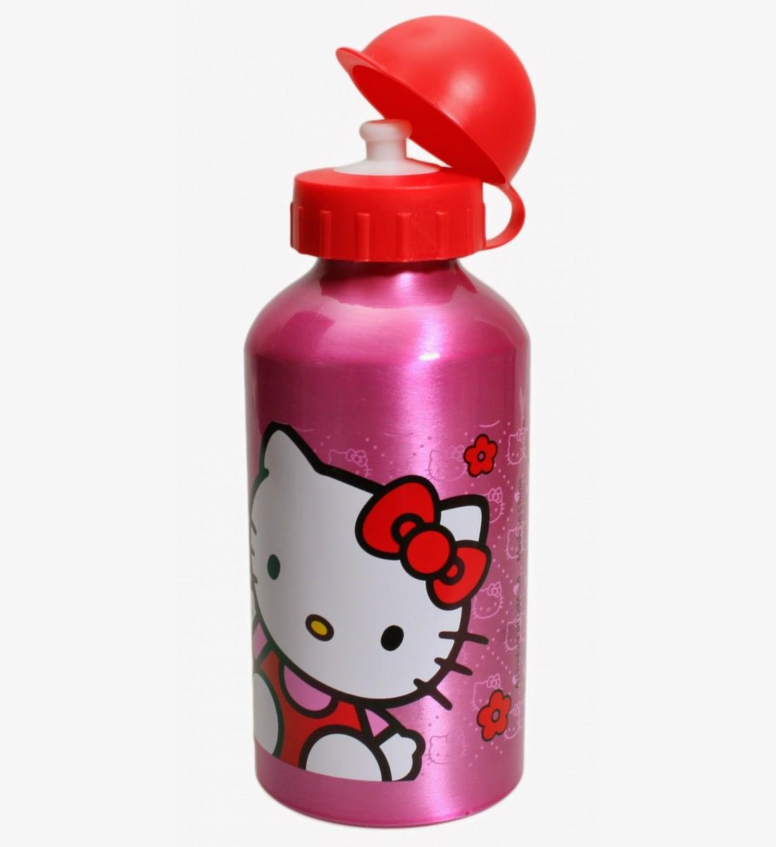 Download gambar botol minum hello kitty untuk anak
