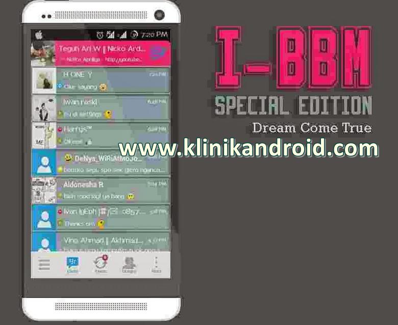 bbm mod iphone terbaru apk
