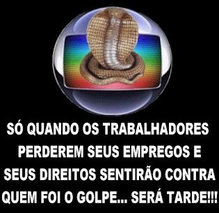 A Globo será cobrada