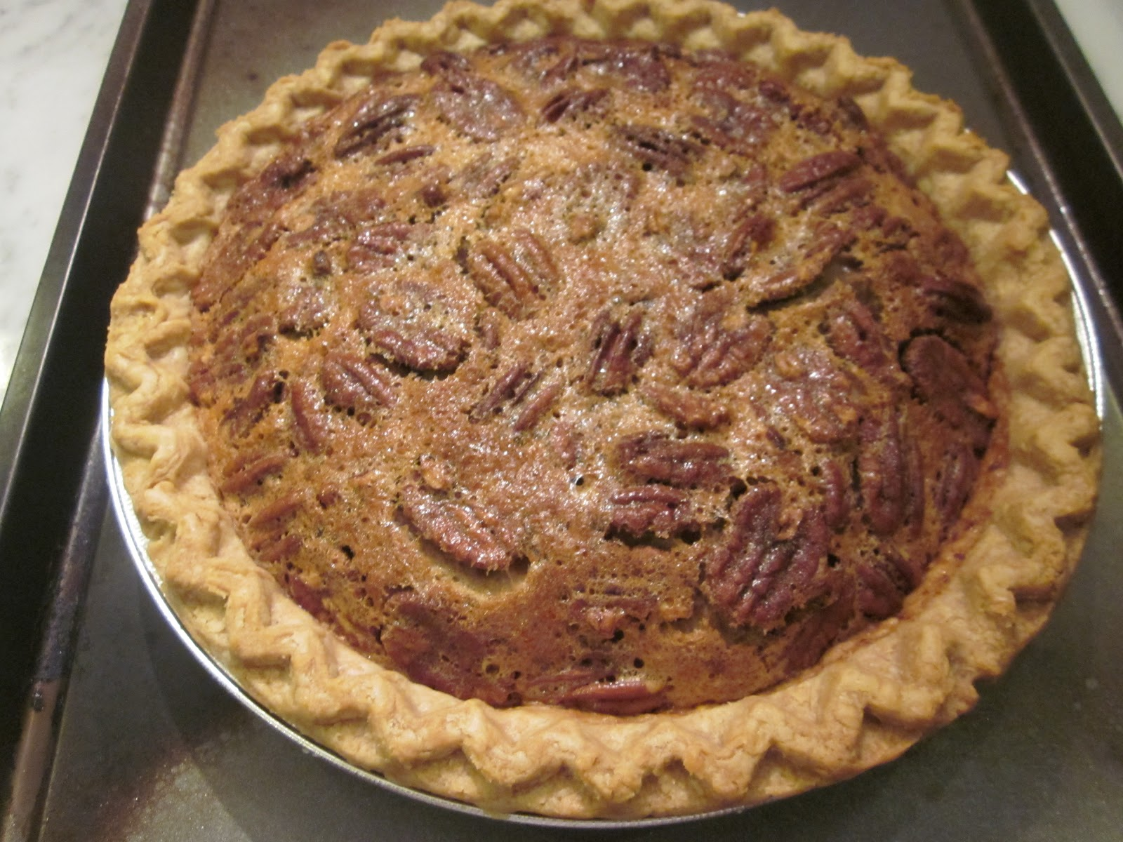 pecan pie i have made many a pecan pie over the years seeking that ...