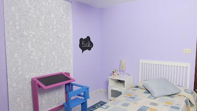 Cómo pintar una habitación para niños. www.enredandonogaraxe.com