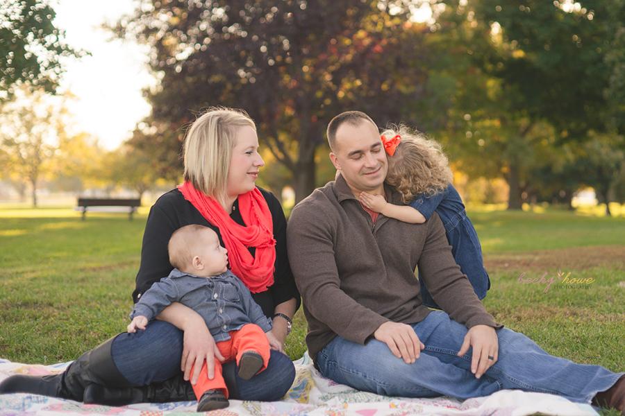 omaha family photographer photography halleck park papillion fall session