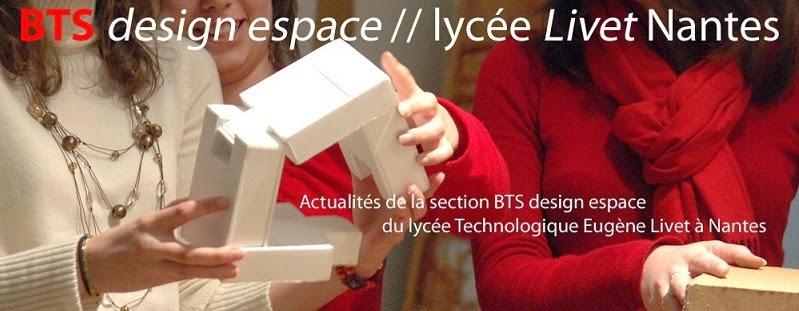 BTS design espace / Livet Nantes