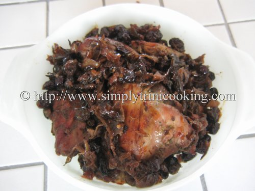 sorrel chicken
