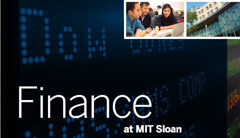 Finance at MIT Sloan