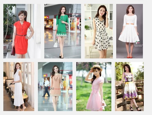 Shop bán đầm đẹp kiểu Hàn Quốc giá rẻ tại TPHCM