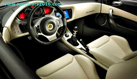 2017 Lotus Evora 400 Interior