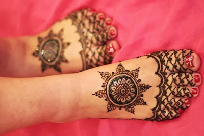 Wide Henna Designs For Cards