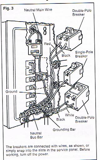 help for do it yourselfers  replacing  adding circuit breakers