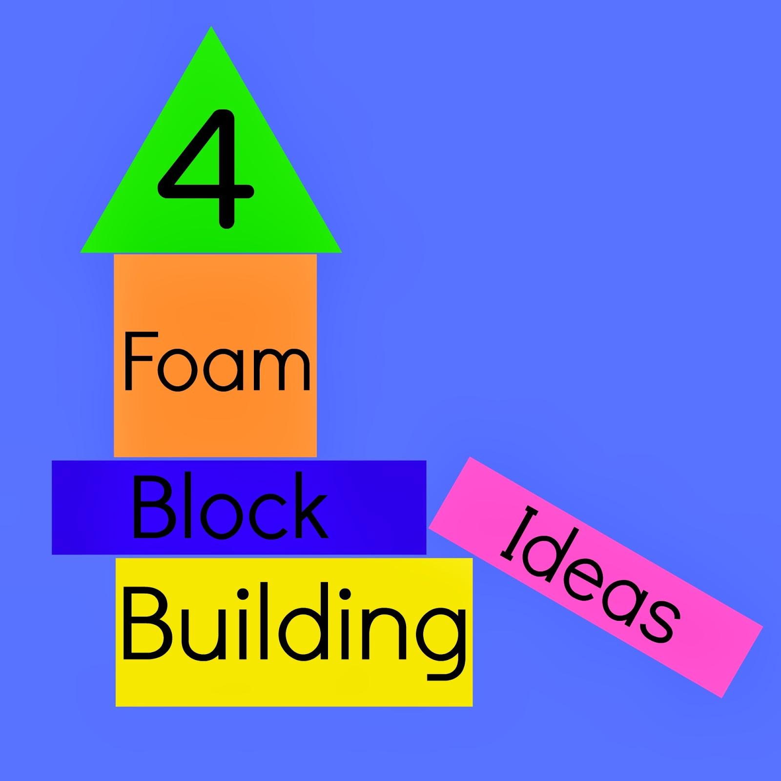 Little moments four foam block building ideas for Foam block house construction