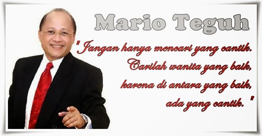 Kumpulan Kata Mario Teguh Tentang Cinta