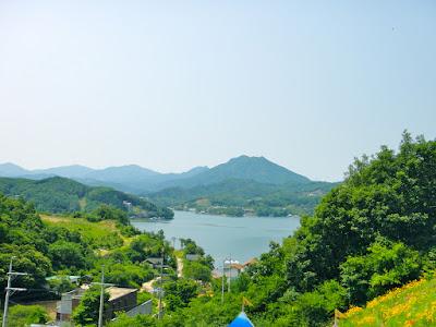 Cheongpyeong Lake at Gapyeong South Korea