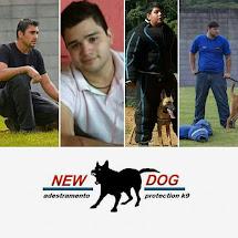 Equipe de adestradores New Dog