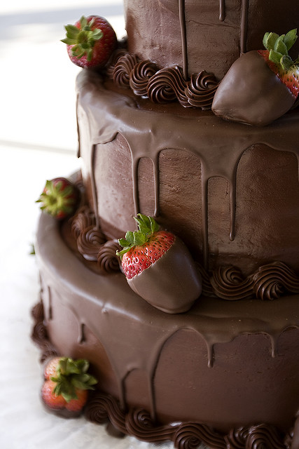 Wedding Cake Designs: Chocolate Wedding Cakes