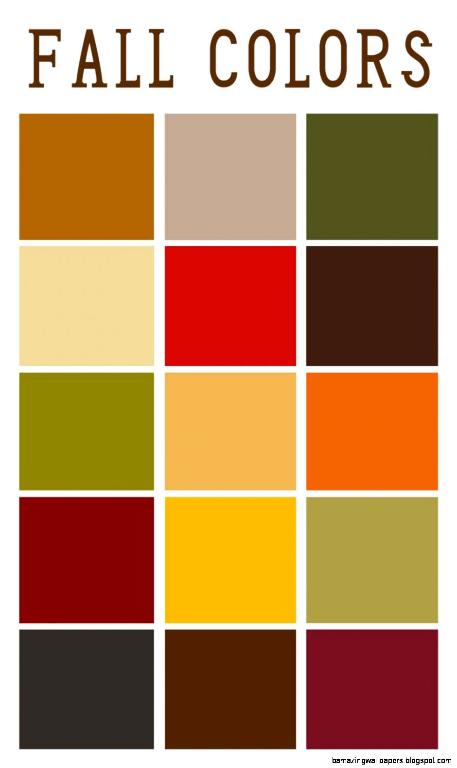 1000 ideas about Fall Color Palette on Pinterest  Color Palettes