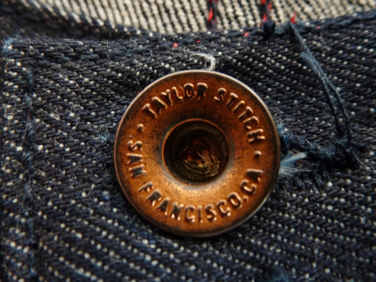 Taylor Stitch Denim Kurabo Mills Detail