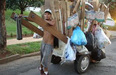 1 de maio: Homenagem ao trabalhador brasileiro:catador