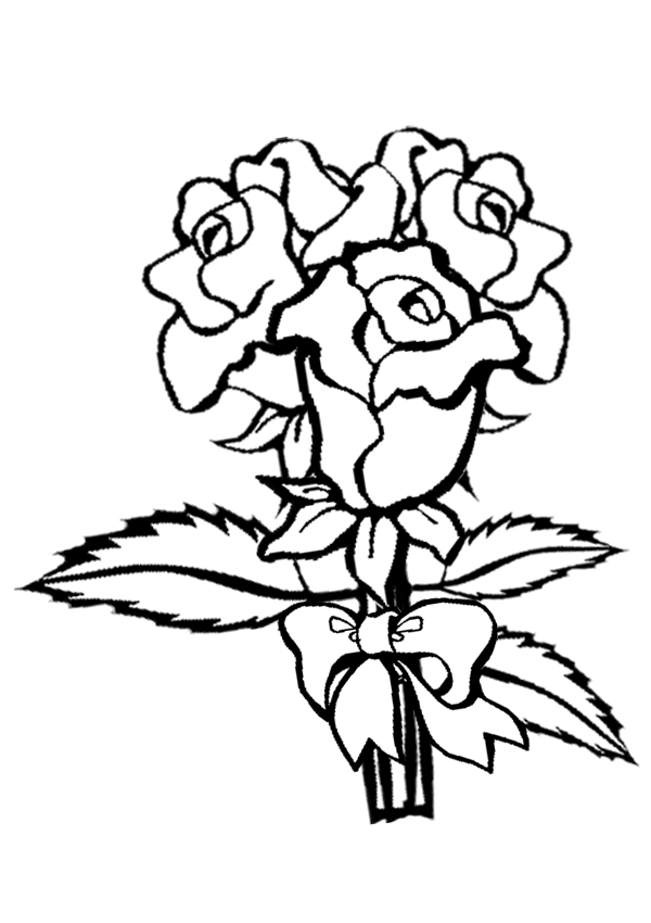 Coloring pages for kids rose coloring pages for Coloring pages roses