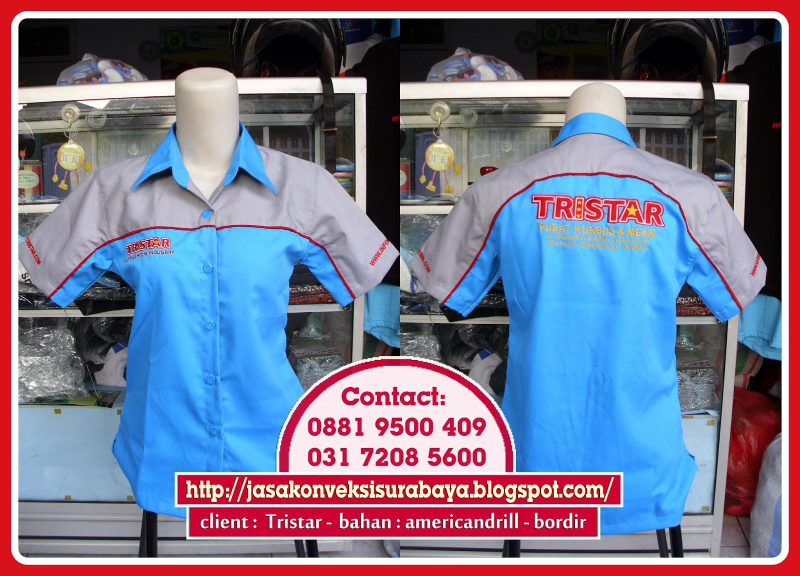 supplier seragam kemeja kerja murah- supplier seragam kemeja kerja bordir - supplier seragam kemeja kerja surabaya, pesan seragam kerja,