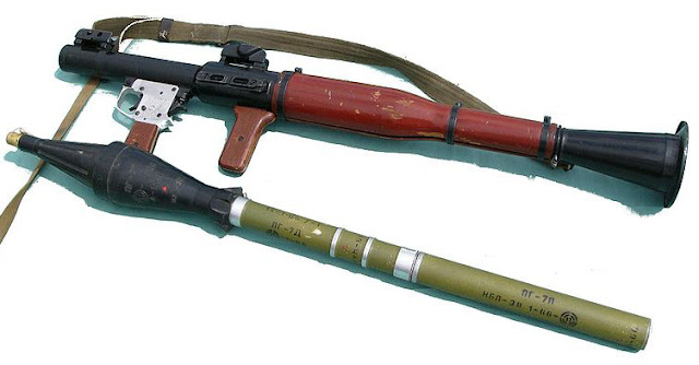 RPG, bazooka, rocket launcher, missile, anti-tank weapon