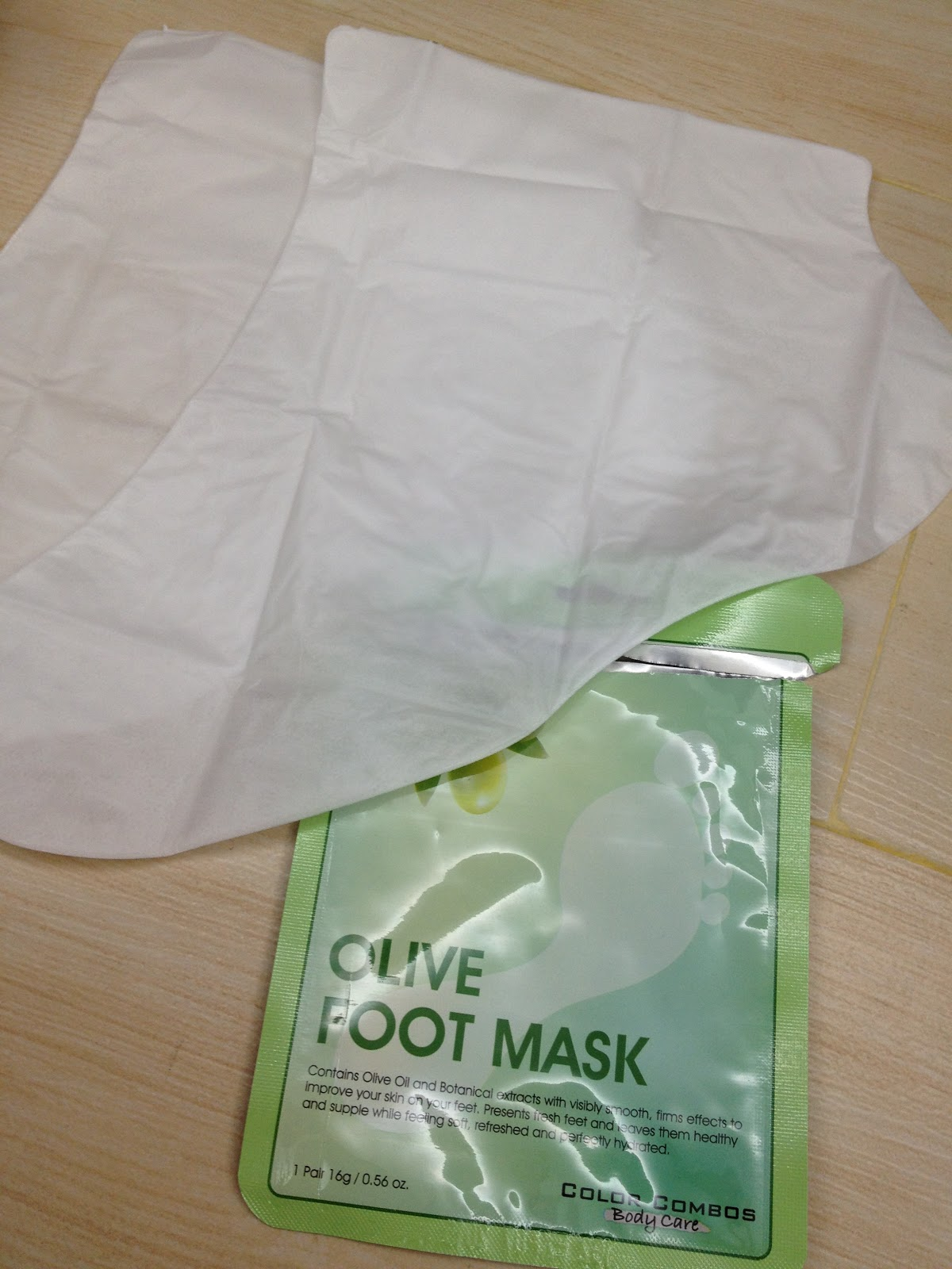 Olive foot mask - waste of money don't buy ~ Buying the ...