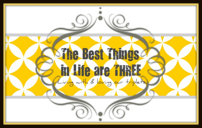 The Best Things in Life are THREE...