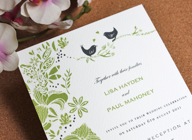 They Were Also Very Keen To Reflect Some Organic Rustic Handmade Elements Therefore I Screen Printed Each Wedding Invitation By Hand