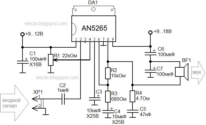 Cd 6 f 11 микросхема схема подключения 551